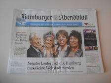 Sach Musik Hamburger Abendblatt/Rolling Stones Konzert 2017 (70 s.) FUNKE MEDIEN