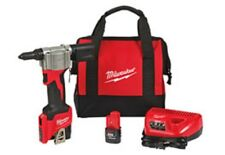 NEW Milwaukee 2550-22 M12 12 VOLT CORDLESS Pop Rivet Tool 1.5AH Kit New