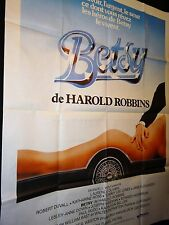BETSY   affiche cinema cars automobile