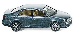 VW Volkswagen Jetta V Bora Vento Sagitar 2005-10 Platinum Grey Gray 1:87 Wi