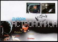 MACEDONIA MAKEDONIJA EUROPA CEPT 2009 ASTRONOMY SET FIRST DAY COVER