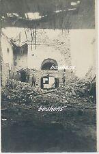 Foto Flandern Dixmuiden/Diksmuide zerstörte Häuser-Soldaten 1.WK (i903)