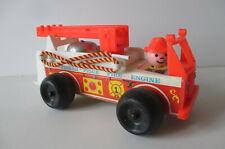 Camion de pompier Fisher Price Fire engine 1968