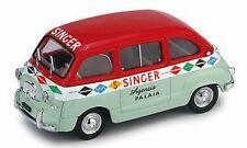 FIAT 600 MULTIPLA 1956 SINGER 1:43 MODELLINO AUTO FURGONE BRUMM SCALA