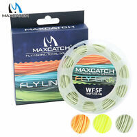 Maxcatch WF1/2/3/4/5/6/7/8F Trout Fly Fishing Line with Loop Weight Forward