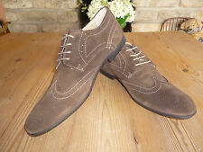 Mens Tan or Brown Suede Brogues Sizes 7-12 new in box £20 Bargain!!