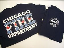 Chicago Fire Department Chicago Flag Shirt