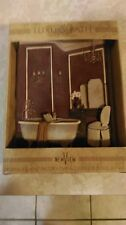 New View The Luxury Bath Wall Plaque New in Box