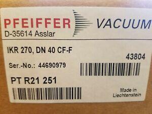 Pfeiffer Vacuum IKR-270 Compact Cold Cathode Gauge PT R21 251 DN 40 CF-F  SEALED