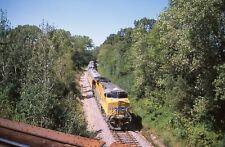 B: Orig Slide UP Union Pacific ES44AC #2020 w/Special Train - Elgin IL 2010