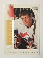 1996-97 Upper Deck #384 Patrick Marleau Team Canada RC Rookie Card