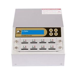 Ureach 1:7 SD/microSD Duplicator/Sanitizer 2GB/Min - Flash Copier/Eraser SD908G