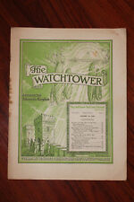 The Watchtower Magazine JANUARY 15 1945 Jehovahs Witnesses VTG booklet book Rare