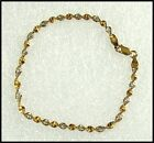 Dainty Vintage Gold Vermeil 925 Sterling Silver Twist Bracelet Signed Danecraft