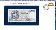 Banknotes of All Nations Greece 50 Drachmai 1978 P199 UNC Prefix 03Λ