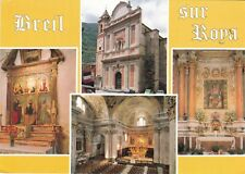 Breil Sur Roya Multiview France Postcard used VGC