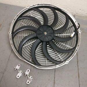 2012 Ford Edge 16 Inch Chrome Radiator Fan warranty cooling heavy duty