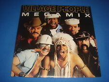 45T / VILLAGE PEOPLE / MEGAMIX MEGA MIX / TOUCH OF GOLD 1989 FR / EX/EX- disco