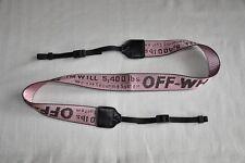 Cámara SLR hueso Rosa cinturón industrial W35 mm Cuello Correa de Hombro para D