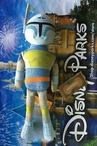 "BOBA FETT BLUE HOLIDAY VARIANT PLUSH 12"" Star Wars Galaxys Edge Disney Toydorian"