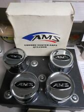 AMS 4/137 4/156 Chrome Center Caps Set Can Am Kawasaki Polaris Suzuki 0223-0023