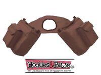 JT TOUGH 1 BROWN Trail Saddle INSULATED Horn Bag Pommel Horse Tack