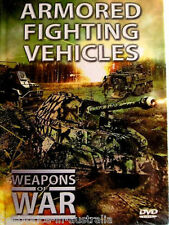 WEAPONS OF WAR: Armoured Fighting Vehicles DVD + BOOK WORLD WAR TWO BRAND NEW R0