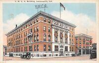 Indianapolis Indiana 1920s Postcard YMCA Building