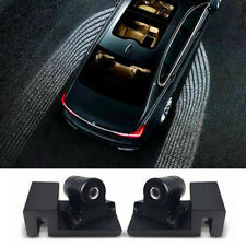 Angel wings shape Car Door LED Laser Projector lamp Welcome Lights Ground Lamp