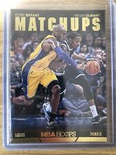 Kobe Bryant / Kevin Durant Matchups 2014-15 Panini NBA Hoops #13