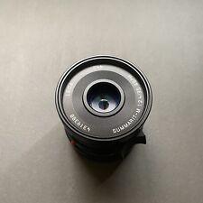 Leica Summarit M 35mm F2.4 ASPH w/ Hood And IR/UV Filter