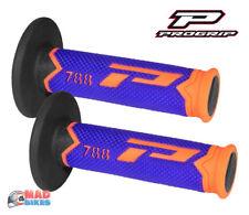Pro Grip Progrip 788 Poignées Orange Bleu Motocross Noir Triple Densité Poignées