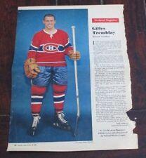 Gilles Tremblay No. 2 issue Weekend Magazine Photos 1962 -1963 Toronto Star