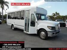 2013 International SHUTTLE BUS Passenger Van Party Limo SHUTTLE Bus 38,000 Miles