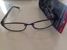 $24.99 Foster Grant +2.75 Navy Reading Glasses isa NVY with soft case