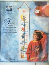 Counted Cross Stitch Kit, Childrens Height Chart