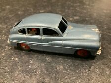 French Dinky Toys 24Q Ford Vedette Metallic Blue With Red Hubs