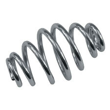 """1 MCS UNIVERSAL SOLO SEAT SPRING CHROME CLASSIC TAPERED 3"""" BOBBER CHOP BC37543 T"""