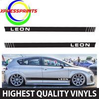 Seat Leon Ibiza Cupra Racing Stripes Decals Vehicle Graphics