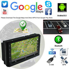 "Universal 7"" 2 DIN Android 8.0 Car MP5 Player FM HD Touch Screen GPS Navigation"