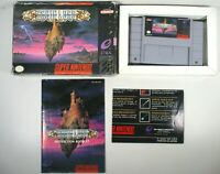 Brain Lord (Super Nintendo, 1994) CIB w/ manual and poster