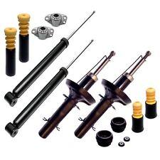 4x Premium Gas Stoßdämpfer Serie 4x Domlager 4x Staubschutz VW Seat Skoda Audi