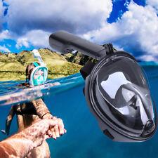 Schnorchelmaske Tauchmaske Schnorchelset Vollmaske Taucherbrille für GoPro 180°