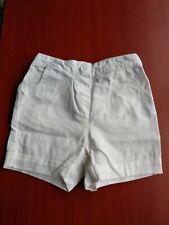 Jojo Maman Bebe baby white denim shorts. Age 18 - 24 months