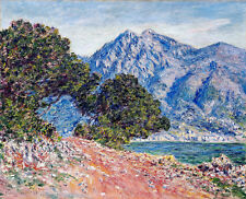 Claude Monet Cap Martin canvas print giclee 8X12&12X17 art reproduction poster