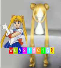 HOT Popular New Sailor Moon Tsukino Usagi Yellow Cosplay Wig Sales