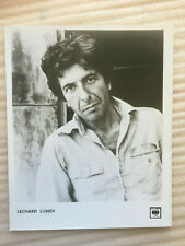 Leonard Cohen , original vintage press headshot photo