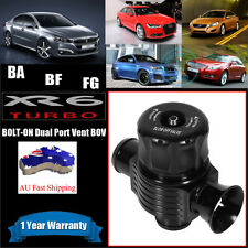 Dual Port Blow Off Valve DIRECT BOLT ON XR6 Turbo BA BF FG BOV Dump DC 25mm FPR
