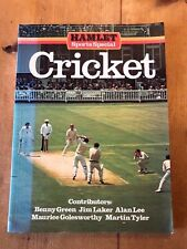 """LARGE 1980 """"HAMLET SPORTS SPECIAL - CRICKET"""" ILLUSTRATED PAPERBACK BOOK"""