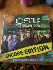 CSI Board Game  Encore Edition - New in Package